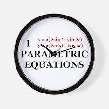 Parametric Equations Wall Clock