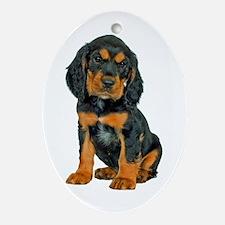 Gordon Setter Ornament (Oval)