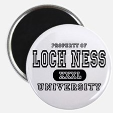 Loch Ness University Magnet