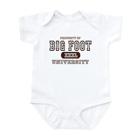 Big Foot University Infant Bodysuit