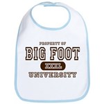 Big Foot University Bib