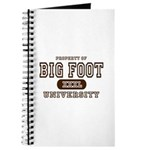 Big Foot University Journal