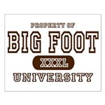 Big Foot University Small Poster