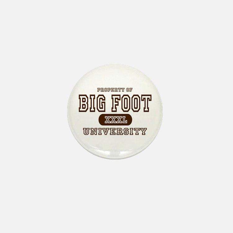 Big Foot University Mini Button