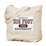 Big Foot University Tote Bag