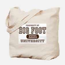 Big Foot University Tote Bag