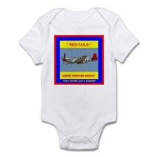 Cute Tuskegee airmen Infant Bodysuit