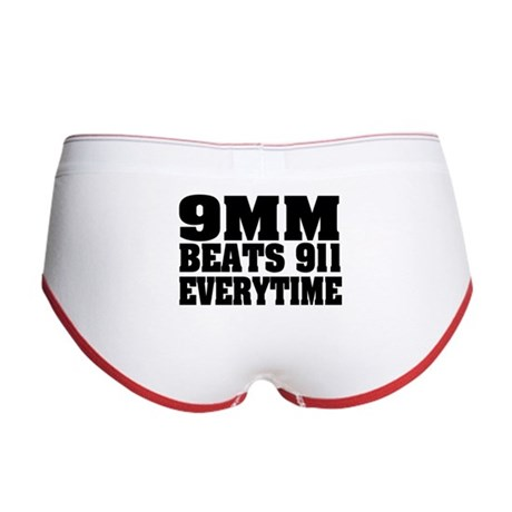 9MM Beats 911 Women's Boy Brief