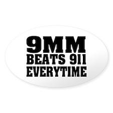 9MM Beats 911 Decal