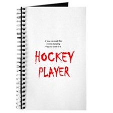 Too Close Hockey Journal