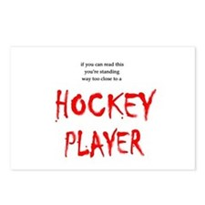 Too Close Hockey Postcards (Package of 8)