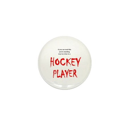 Too Close Hockey Mini Button