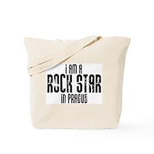 Rock Star In Prague Tote Bag