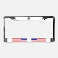 The obama problem License Plate Frame