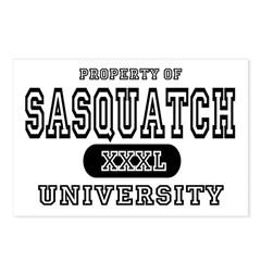 Sasquatch University Postcards (Package of 8)