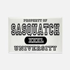 Sasquatch University Rectangle Magnet (10 pack)