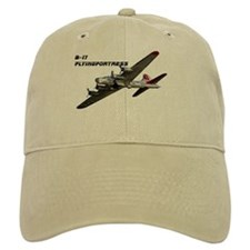 b-17 flyingfortress Baseball Baseball Cap