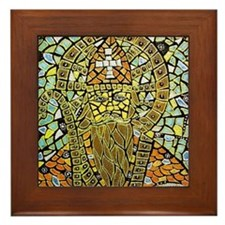 St. Augustine of Hippo Framed Tile