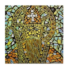 St. Augustine of Hippo Tile Coaster