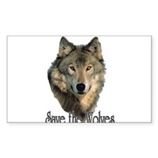 Save Wolve Decal