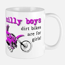 Dirt Bikes Are For Girls Motocross Bike Funny Mug
