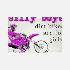 Dirt Bikes Are For Girls Motocross Bike Funny Rect