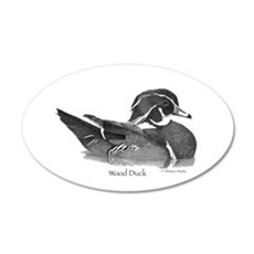 Wood Duck Wall Decal