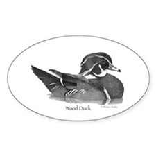 Wood Duck Decal