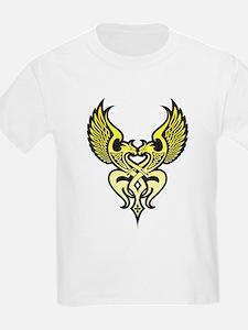 Twin Tribal Eagles T-Shirt