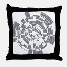 Bits and Bytes Throw Pillow
