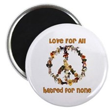 Dogs Of Peace Magnet
