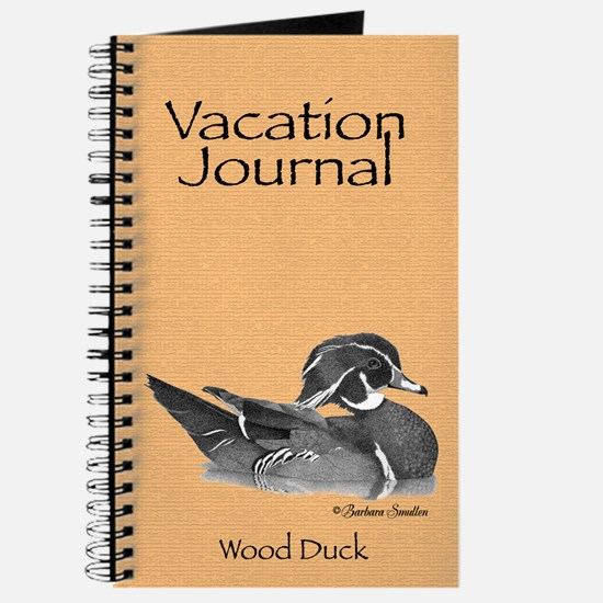 Wood Duck Vacation Journal
