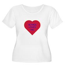 Althea Loves Me Plus Size T-Shirt