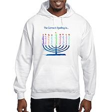 Chanukah Spelling Jumper Hoody
