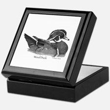 Wood Duck Keepsake Box