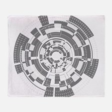 Bits and Bytes Throw Blanket