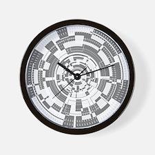 Bits and Bytes Wall Clock