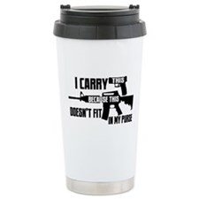 Carry This In My Purse Travel Coffee Mug