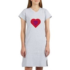 Angie Loves Me Women's Nightshirt