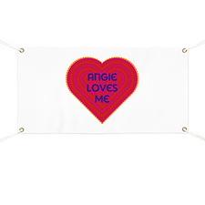 Angie Loves Me Banner