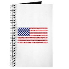 2nd Amendment Flag Journal