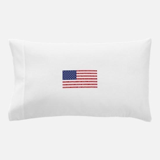 2nd Amendment Flag Pillow Case