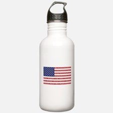 2nd Amendment Flag Water Bottle