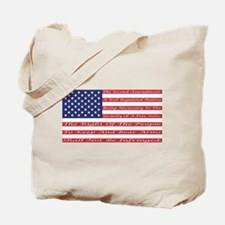 2nd Amendment Flag Tote Bag