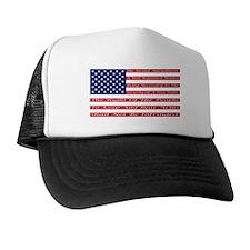 2nd Amendment Flag Trucker Hat