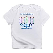 Chanukah Spelling Infant T-Shirt