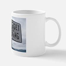 SIGN - NO TARGET SHOOTING Small Mug
