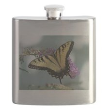 Tiger Butterfly Flask