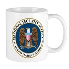 NSA - NATIONAL SECURITY AGENCY Small Mug