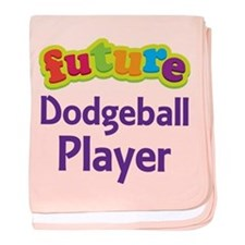Future Dodgeball Player baby blanket